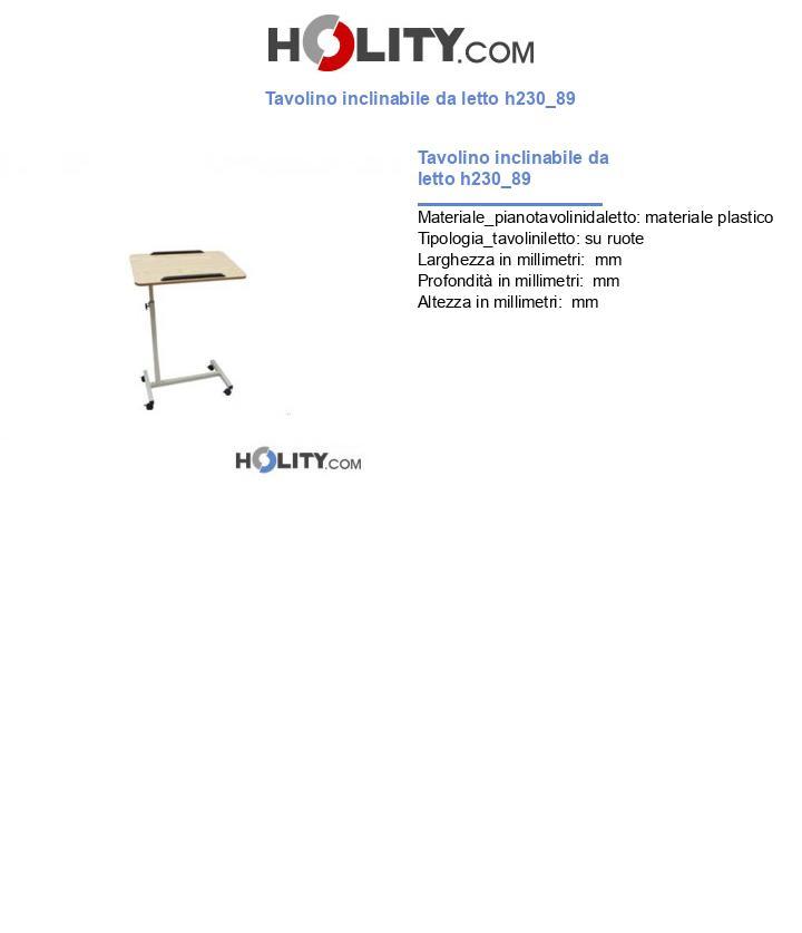 Tavolino inclinabile da letto h230_89