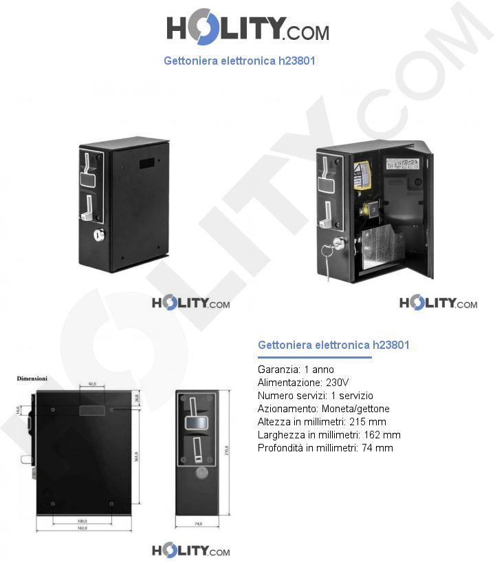 Gettoniera elettronica h23801