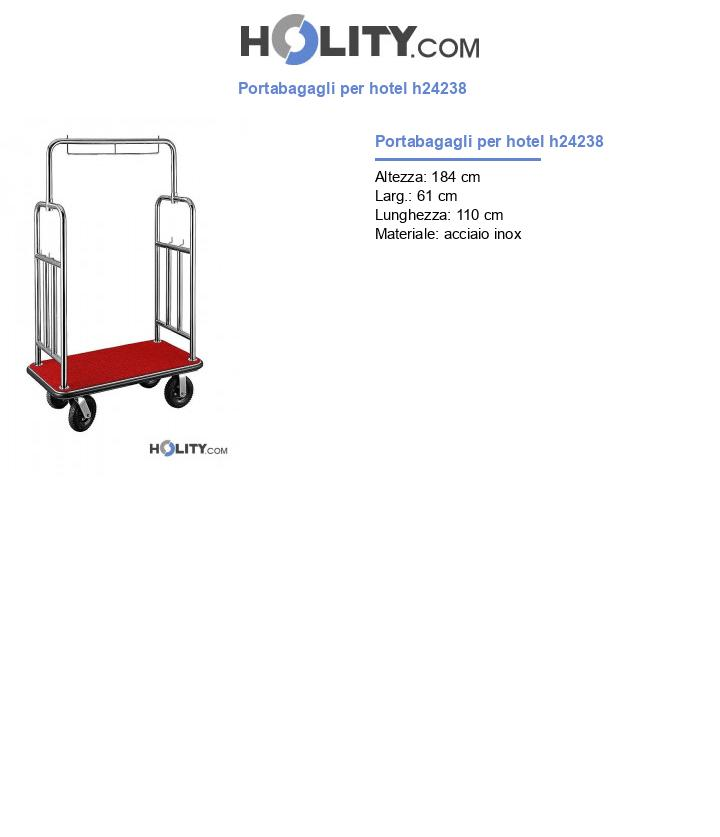 Portabagagli per hotel h24238