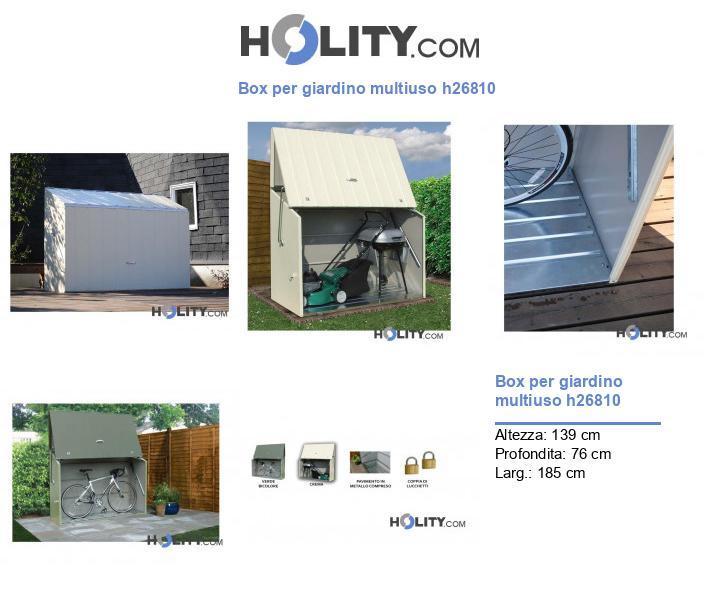 Box per giardino multiuso h26810