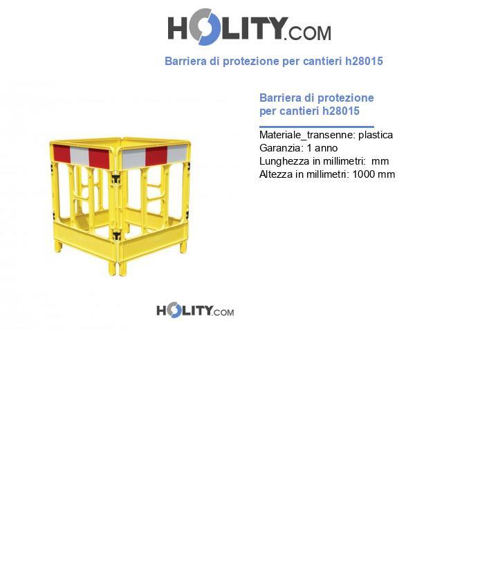Barriera di protezione per cantieri h28015