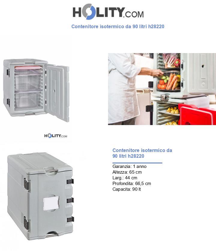 Contenitore isotermico da 90 litri h28220