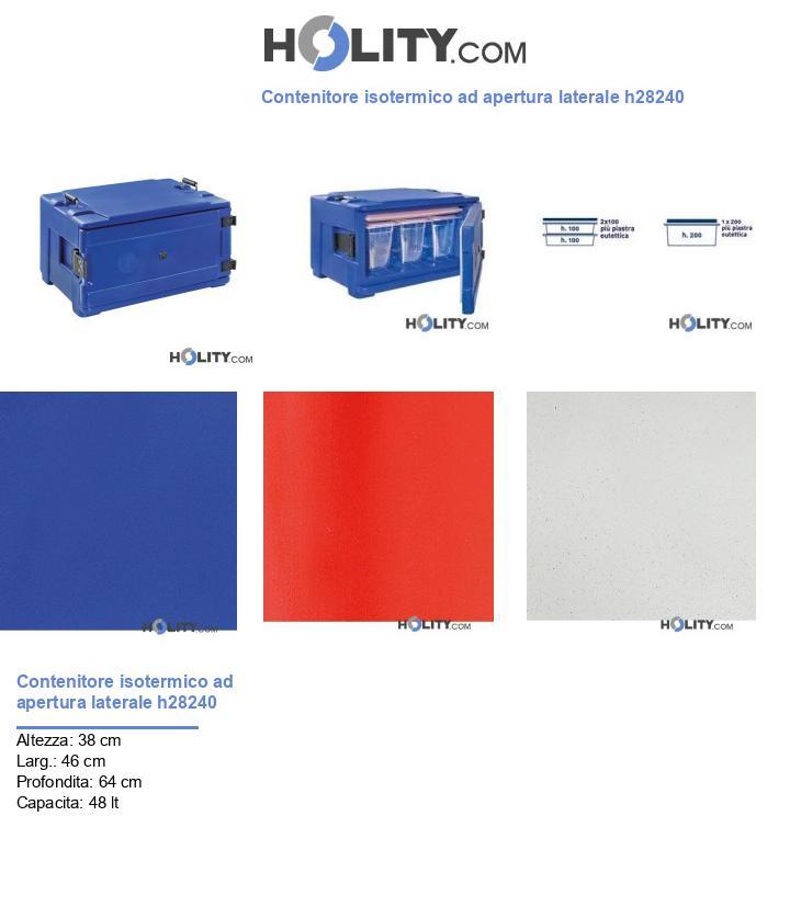 Contenitore isotermico ad apertura laterale h28240