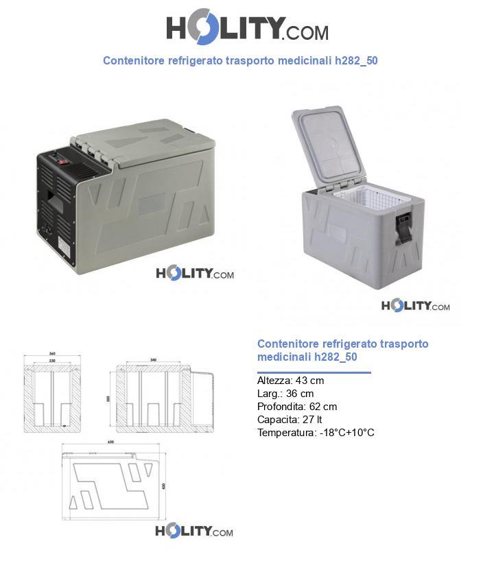 Contenitore refrigerato trasporto medicinali h282_50