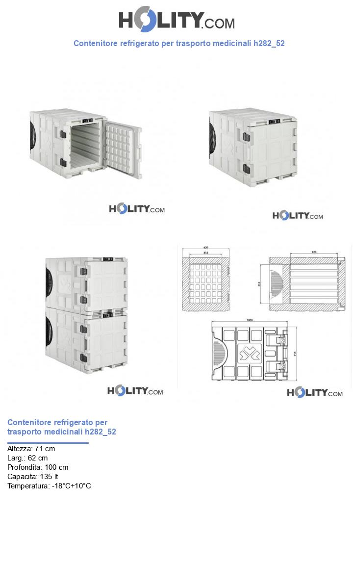 Contenitore refrigerato per trasporto medicinali h282_52