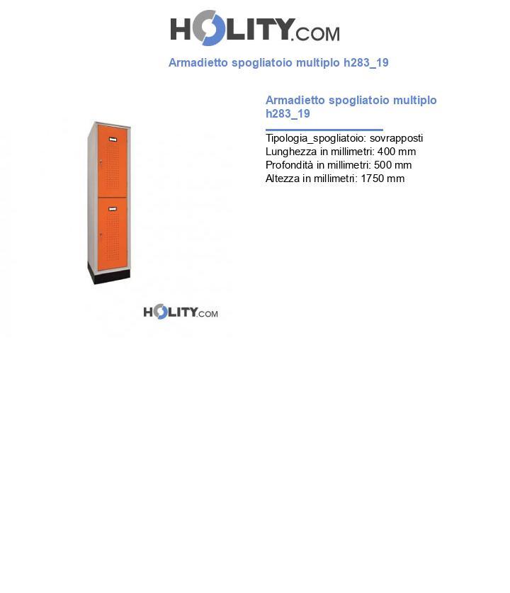 Armadietto spogliatoio multiplo h283_19