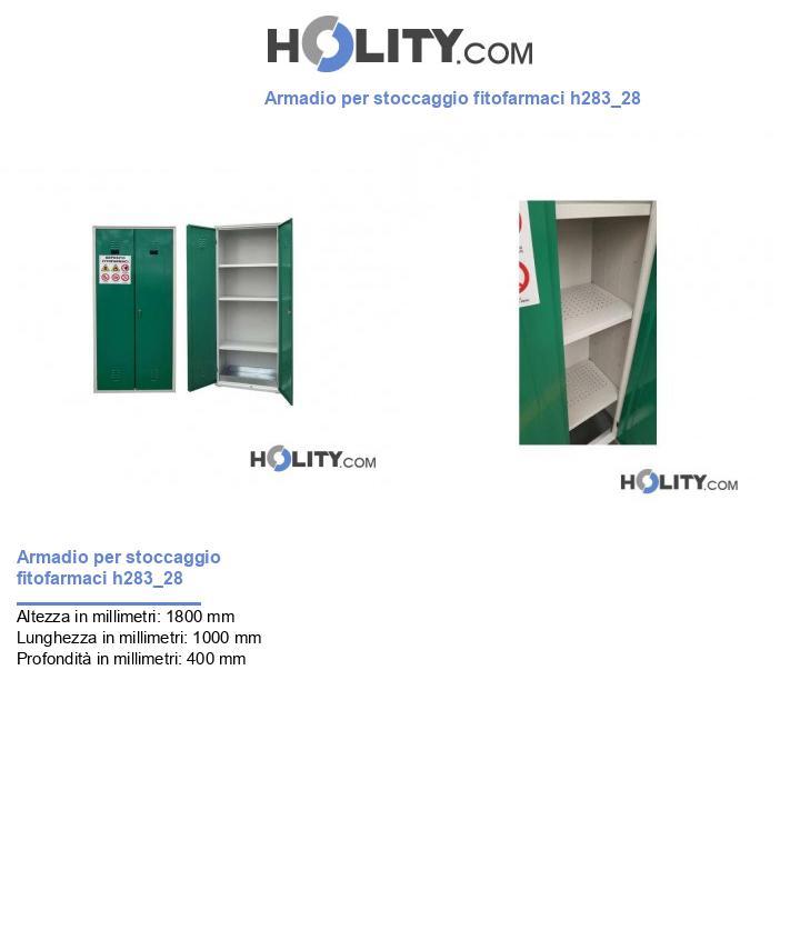 Armadio per stoccaggio fitofarmaci h283_28