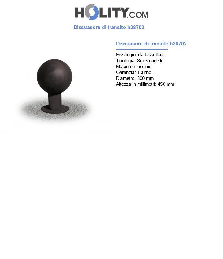 Dissuasore di transito h28702