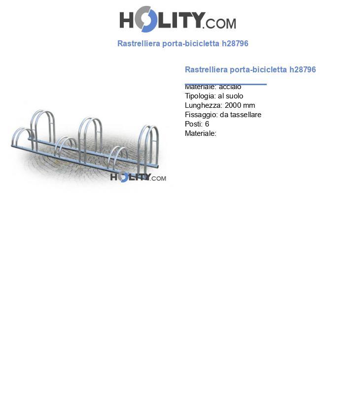 Rastrelliera porta-bicicletta h28796