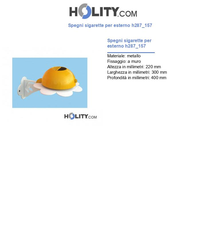Spegni sigarette per esterno h287_157