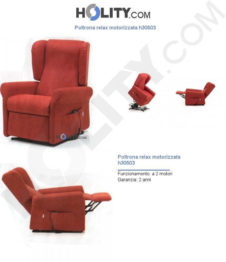 Poltrona relax motorizzata h30503