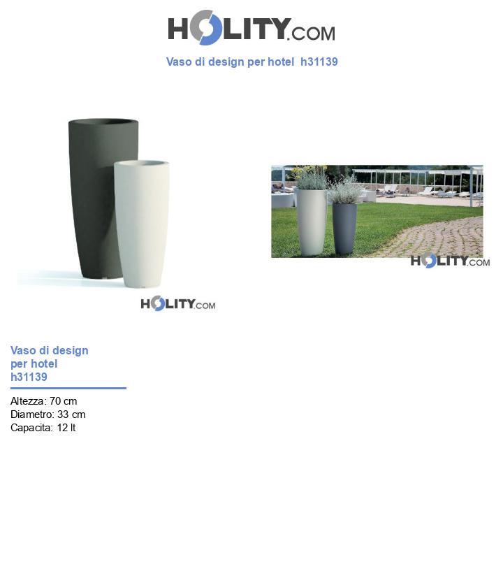 Vaso di design per hotel  h31139