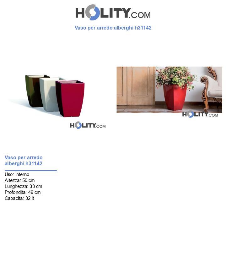 Vaso per arredo alberghi h31142