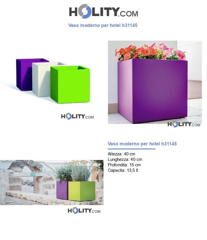 Vaso moderno per hotel h31145