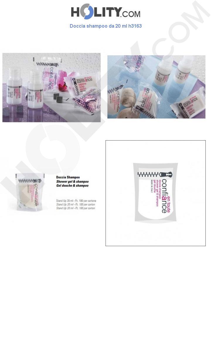 Doccia shampoo da 20 ml h3163