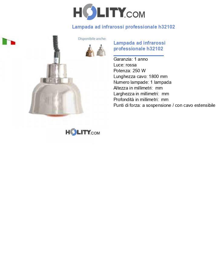 Lampada ad infrarossi professionale h32102