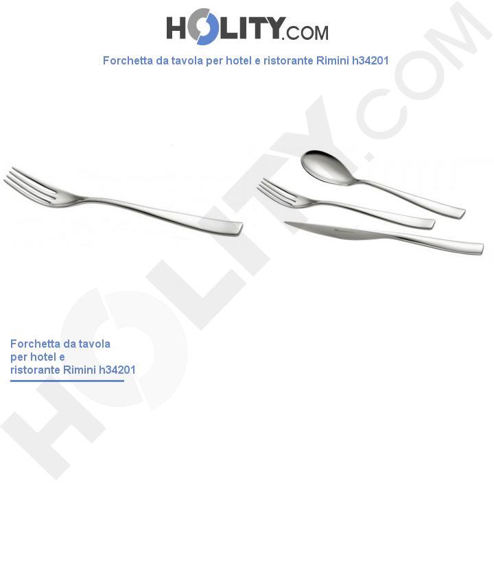 Forchetta da tavola per hotel e ristorante Rimini h34201