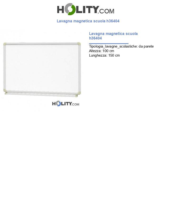 Lavagna magnetica scuola h36404