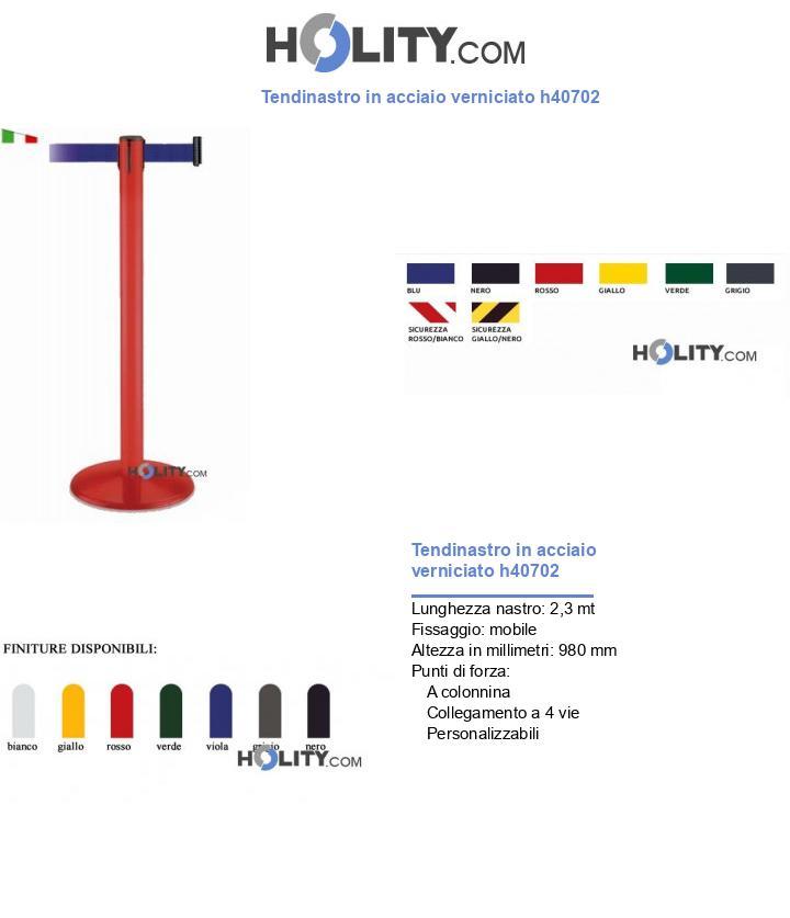 Tendiflex in acciaio verniciato h40702