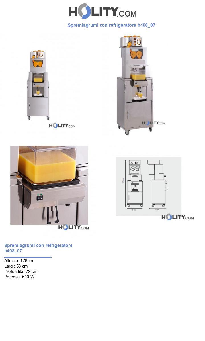 Spremiagrumi con refrigeratore h408_07
