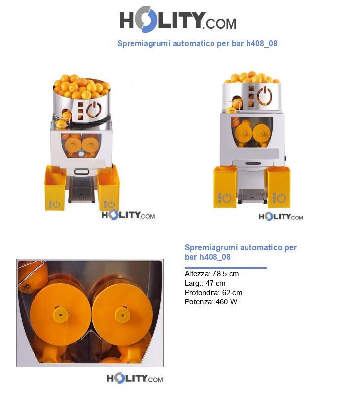 Spremiagrumi automatico per bar h408_08