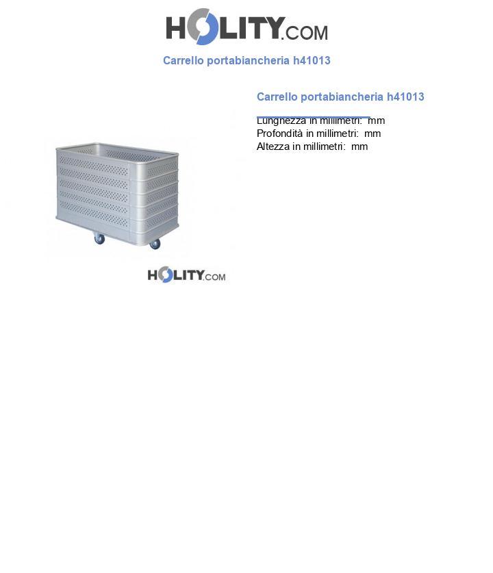 Carrello portabiancheria h41013