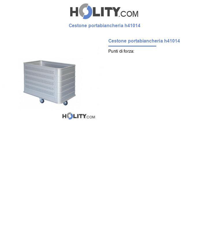 Cestone portabiancheria h41014