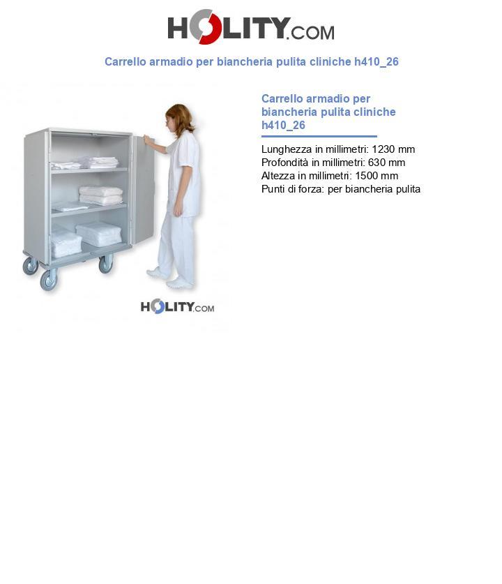 Carrello armadio per biancheria pulita cliniche h410_26