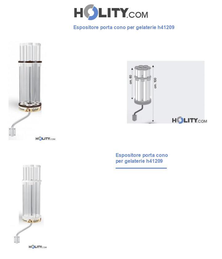 Espositore porta cono per gelaterie h41209