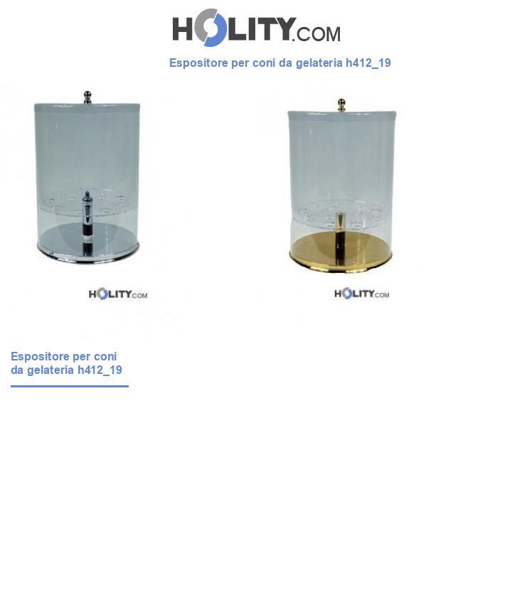 Espositore per coni da gelateria h412_19