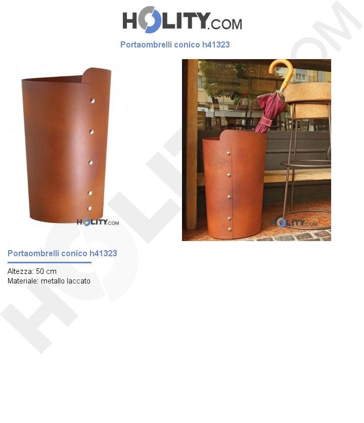 Portaombrelli conico h41323