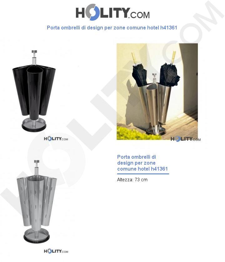 Porta ombrelli di design per zone comune hotel h41361