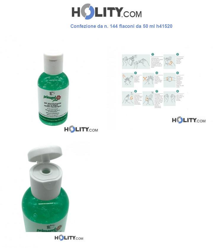 Confezione da n. 144 flaconi da 50 ml h41520