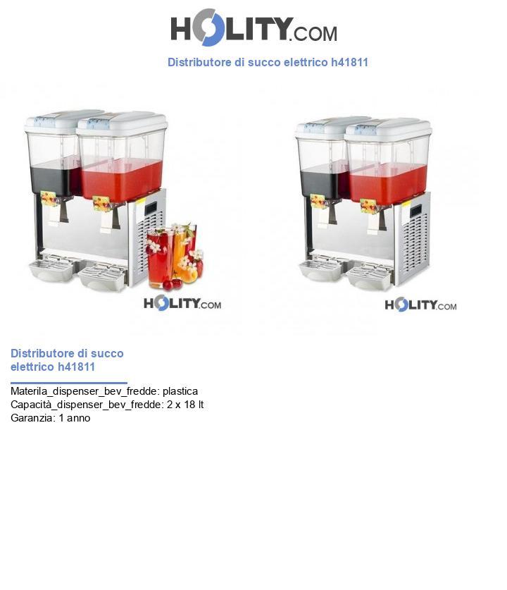 Distributore di succo elettrico h41811