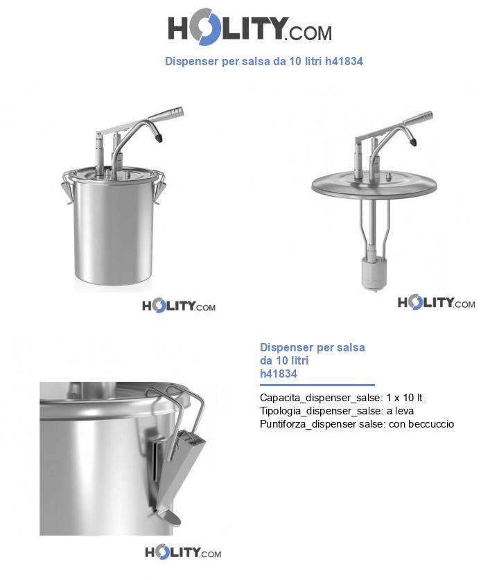 Dispenser per salsa da 10 litri h41834