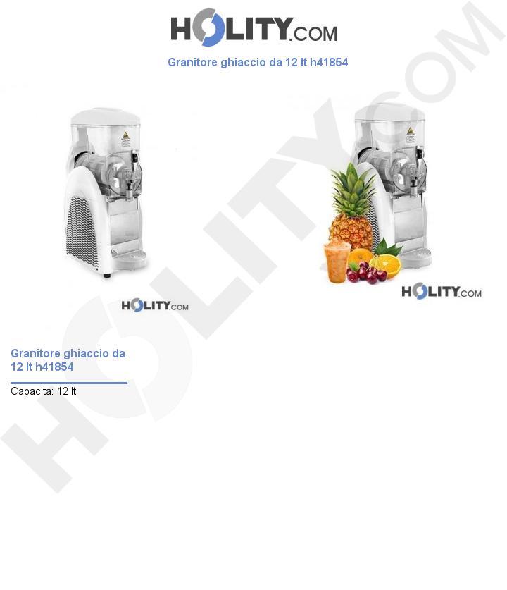 Granitore ghiaccio da 12 lt h41854