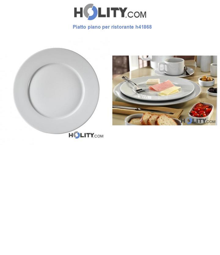Piatto piano per ristorante h41868