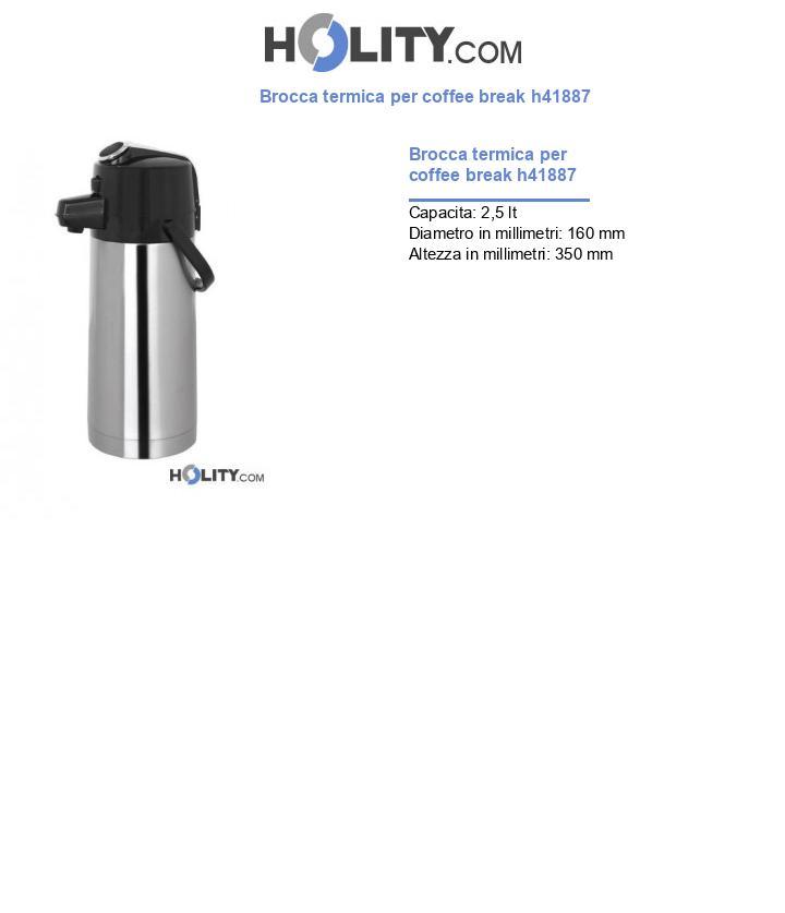 Brocca termica per coffee break h41887