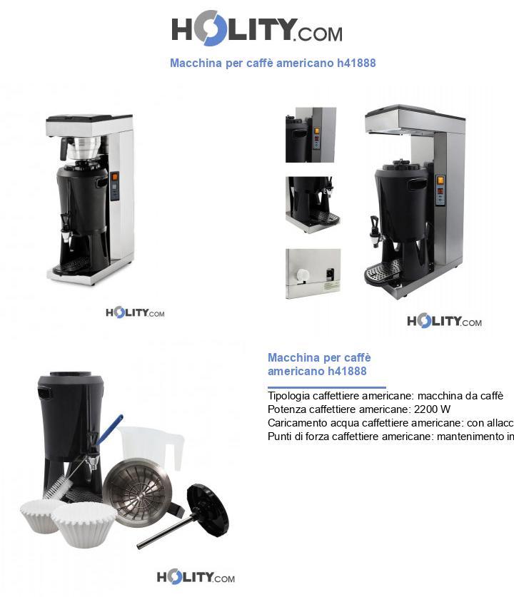 Macchina per caffè americano h41888