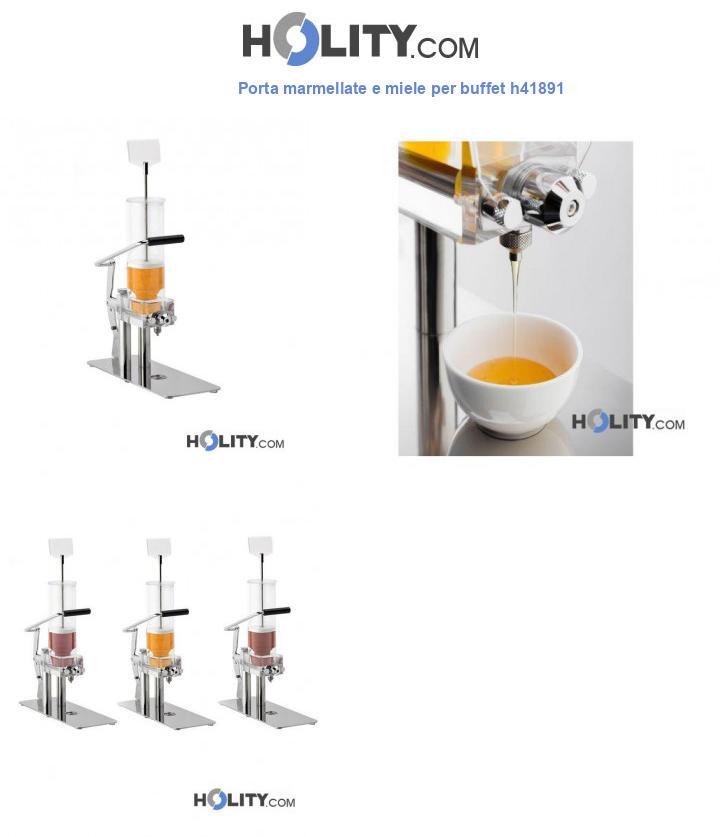 Porta marmellate e miele per buffet h41891