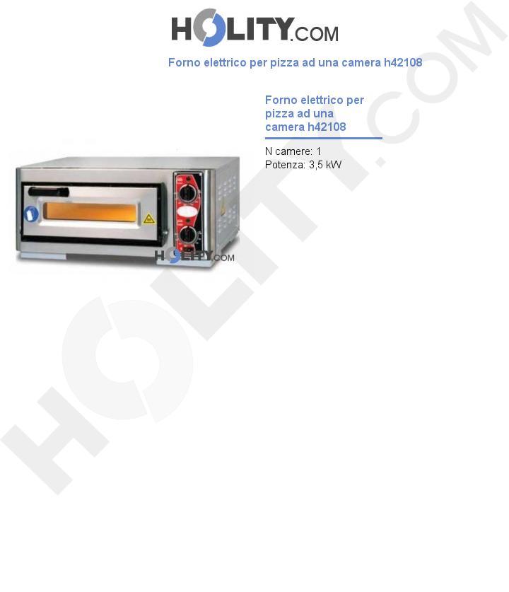 Cerchi forno elettrico per pizza ad una camera h42108 - Forno per pizza elettrico ...