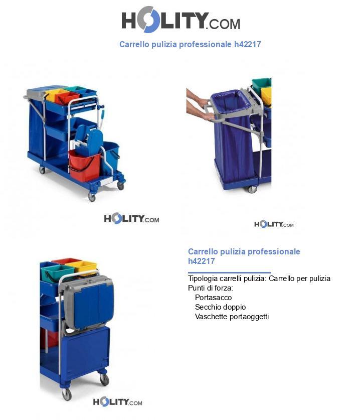 Carrello pulizia professionale h42217