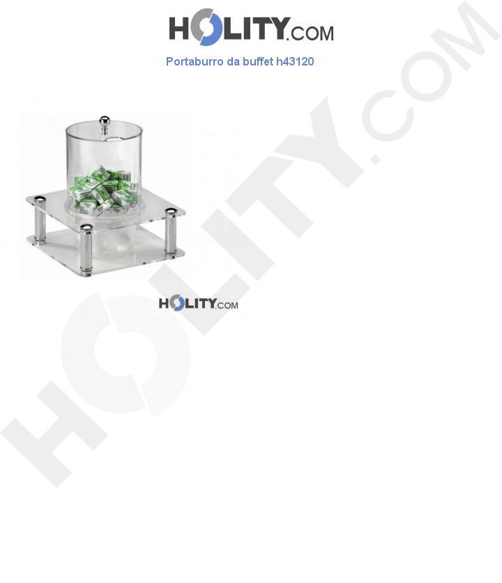 Portaburro da buffet h43120