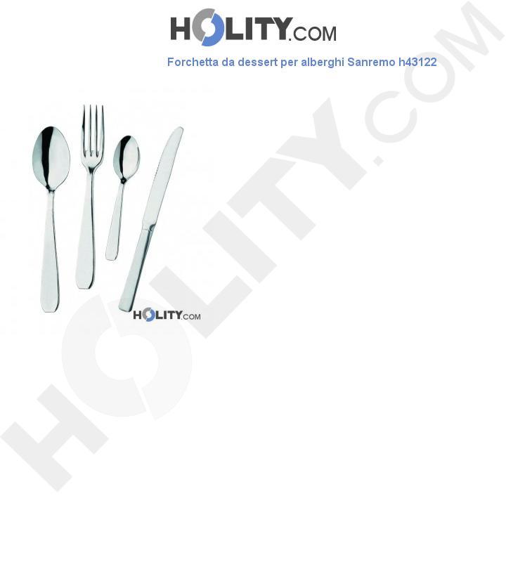 Forchetta da dessert per alberghi Sanremo h43122