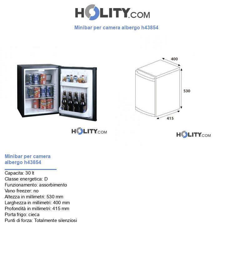 Minibar per camera albergo h43854