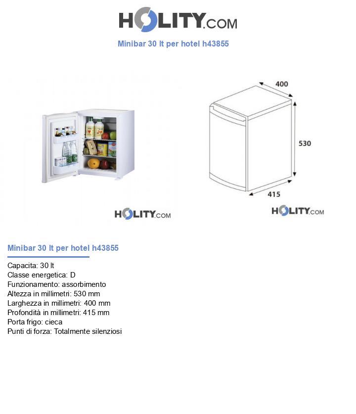 Minibar 30 lt per hotel h43855