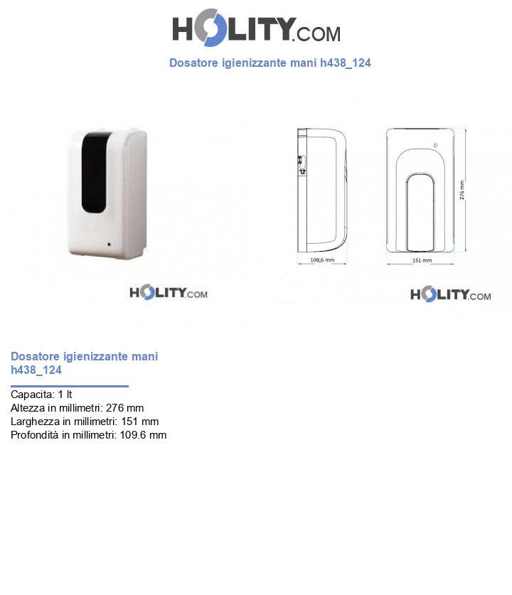 Dosatore igienizzante mani h438_124