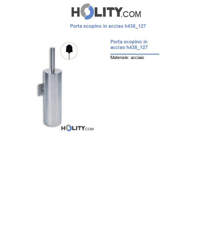 Porta scopino in acciao h438_127