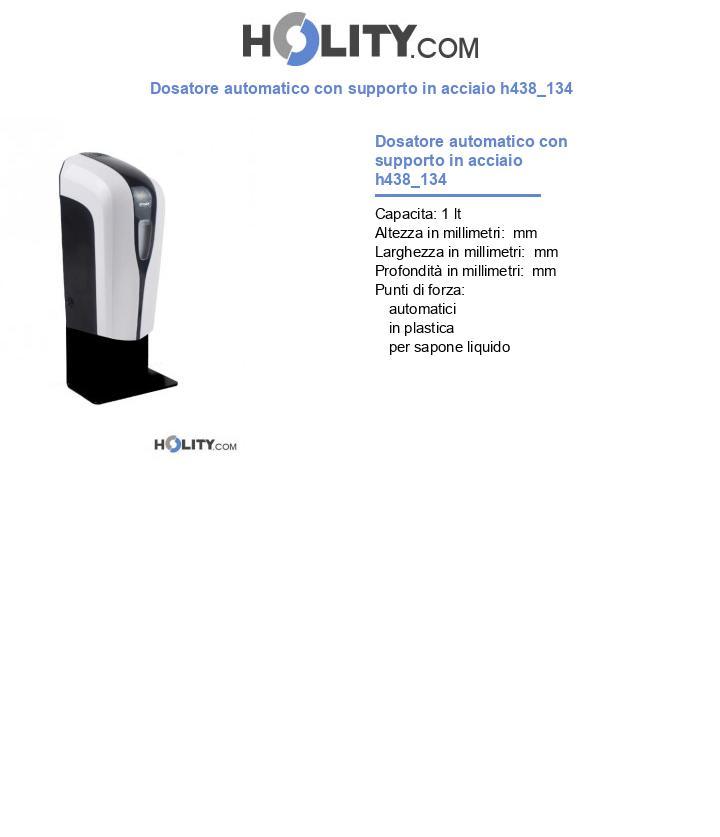 Dosatore automatico con supporto in acciaio h438_134