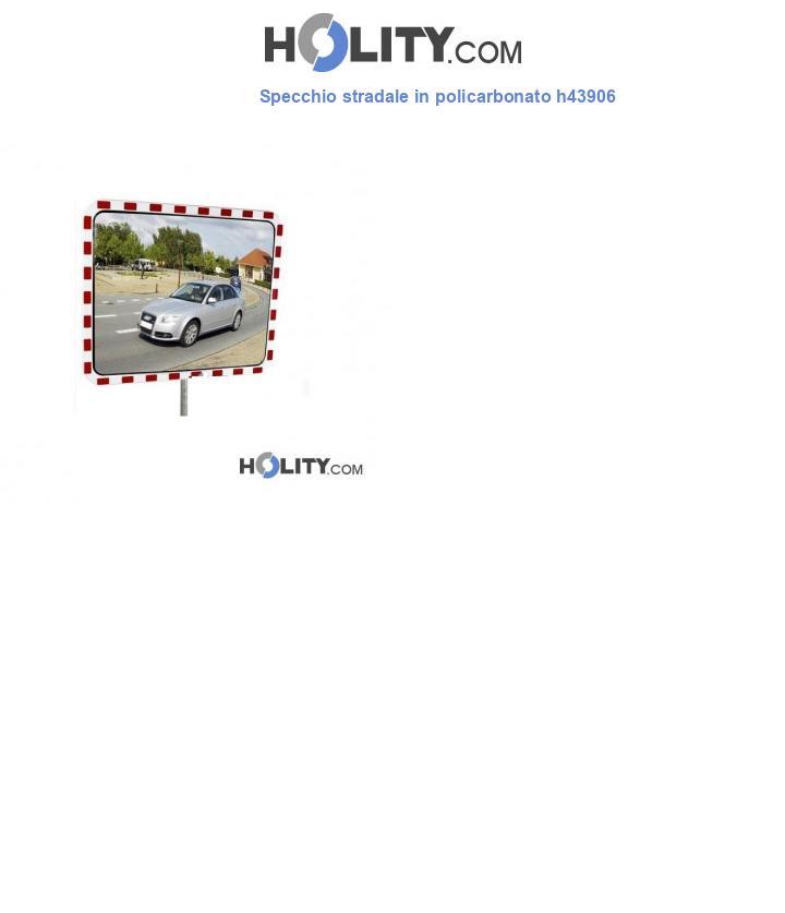 Specchio stradale in policarbonato h43906
